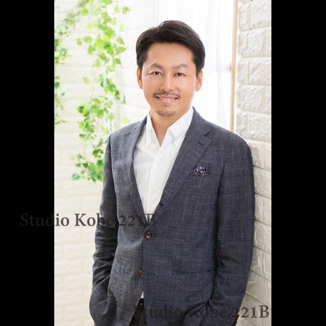 婚活写真、お見合い写真、神戸写真スタジオ